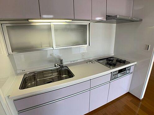 中古マンション-名古屋市天白区八事山 収納スペースたっぷりのシステムキッチン!