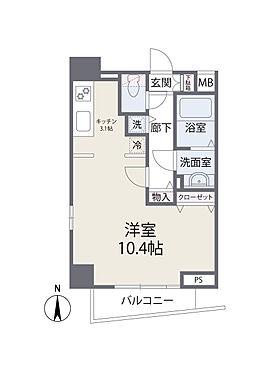 中古マンション-港区西麻布2丁目 間取り図