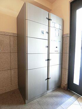 区分マンション-品川区荏原4丁目 不在時も宅配便の受け取りが可能な宅配ボックス