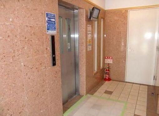 マンション(建物一部)-神戸市中央区下山手通6丁目 カメラ付きで防犯性を高めたエレベーター