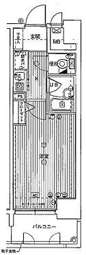 マンション(建物一部)-大阪市西区阿波座1丁目 単身向けの1K