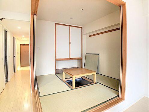 中古マンション-名古屋市天白区井の森町 リビング横には和室がございます♪来客時にもピッタリです♪