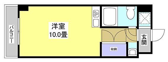 マンション(建物一部)-浜松市中区寺島町 間取り