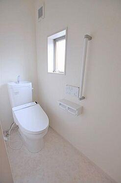 新築一戸建て-仙台市若林区若林3丁目 トイレ