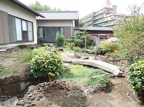中古一戸建て-伊東市富戸 露天岩風呂と庭園を楽しめる平家建