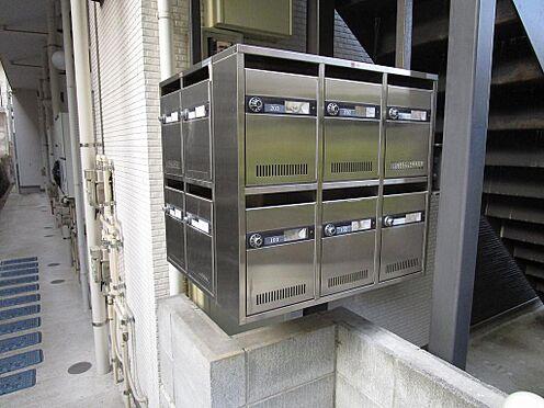 アパート-横浜市港南区最戸2丁目 ダイヤル式のメールボックス。