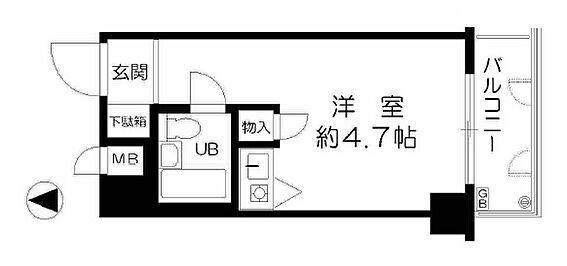 マンション(建物一部)-大阪市西淀川区野里1丁目 シンプルな単身者向け物件