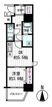 区分マンション-大阪市西区南堀江3丁目 間取り