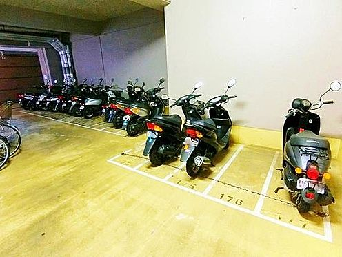 区分マンション-神戸市須磨区北落合6丁目 屋内バイク置き場あり