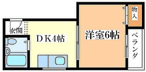 マンション(建物全部)-大阪市西淀川区柏里3丁目 間取り