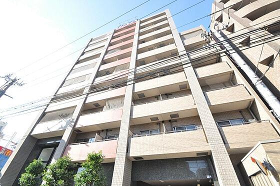 マンション(建物一部)-大阪市西淀川区野里1丁目 オシャレなデザインの外観。
