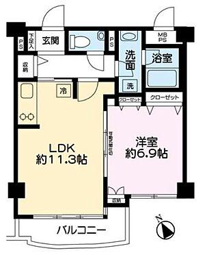 マンション(建物一部)-港区赤坂7丁目 間取り