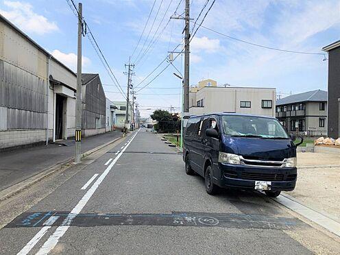 戸建賃貸-名古屋市北区如来町 前面道路含む現地写真です