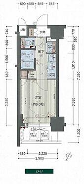 マンション(建物一部)-神戸市中央区琴ノ緒町2丁目 間取り