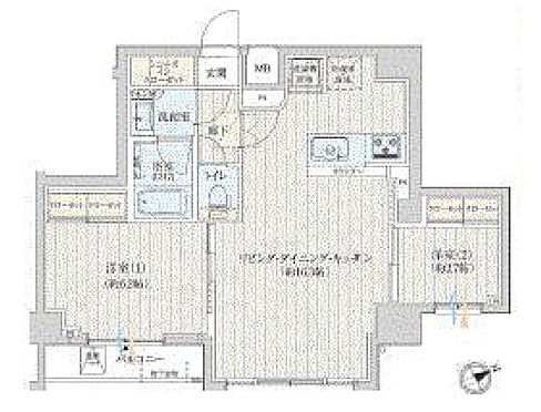 新築マンション-北区西ケ原1丁目 間取り