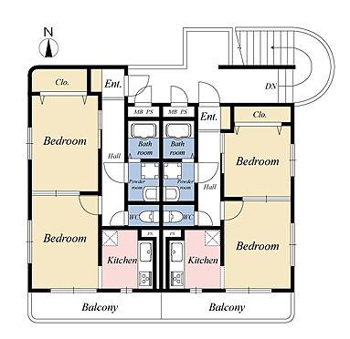 一棟マンション-伊勢崎市連取町 土地面積約118坪