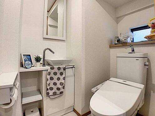 中古一戸建て-名古屋市守山区百合が丘 トイレは1階と2階にございます