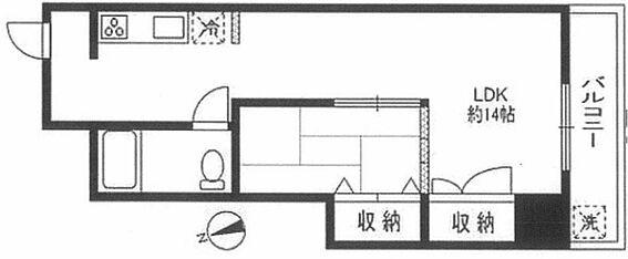 マンション(建物一部)-大田区東六郷3丁目 間取り