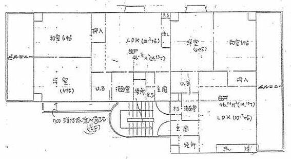 マンション(建物全部)-尼崎市東園田町3丁目 間取り