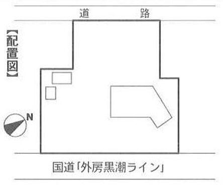 店舗(建物全部)-いすみ市大原 区画図