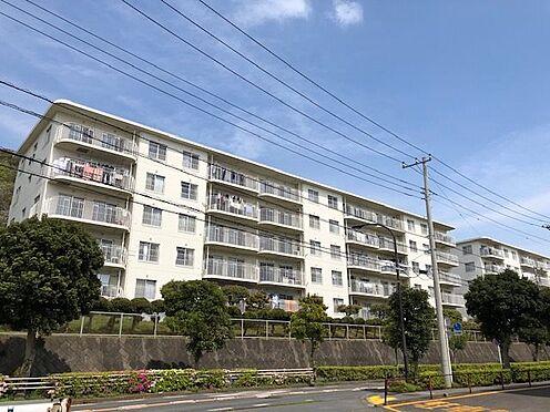 中古マンション-横須賀市グリーンハイツ 建物南西側から撮影