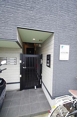 アパート-さいたま市桜区西堀7丁目 【玄関】オートロック付で安心のアパートです!