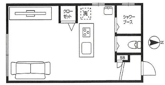 マンション(建物一部)-世田谷区太子堂4丁目 間取り