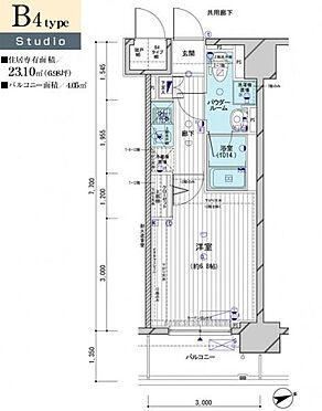 マンション(建物一部)-大田区南蒲田2丁目 間取り