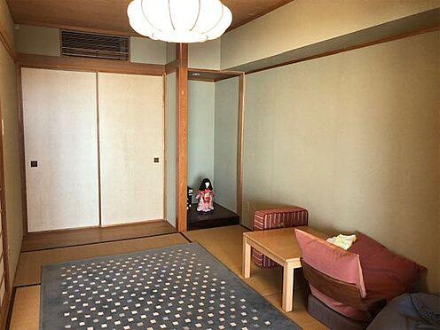 中古マンション-伊東市八幡野 【和室】リビング横の和室6帖