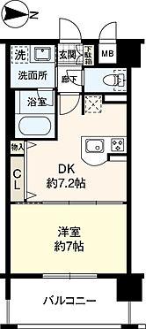 マンション(建物一部)-大阪市北区豊崎4丁目 間取り 専有面積35.55平米