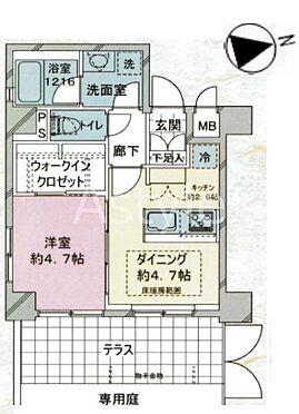 区分マンション-大田区南蒲田1丁目 間取り