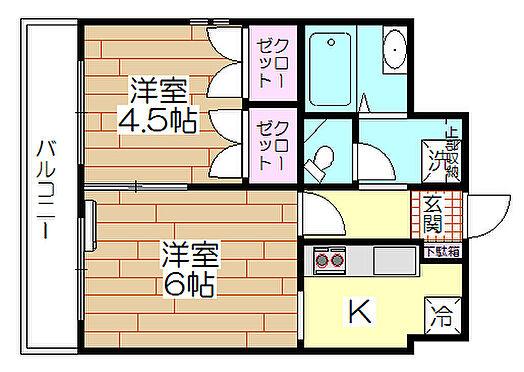 マンション(建物全部)-足立区梅田6丁目 間取り