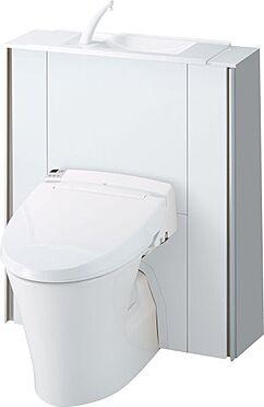 新築一戸建て-大野城市仲畑3丁目 収納一体型トイレとなっているので、掃除道具などを収納しスッキリとさせることが出来ます。(1階のみ)