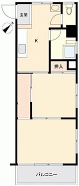 マンション(建物一部)-中央区月島4丁目 間取り