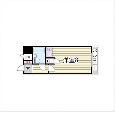 マンション(建物一部)-神戸市中央区割塚通2丁目 間取り