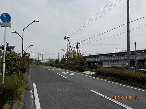 土地-大津市南小松 前面道路含む現地:2018