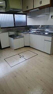 店舗付住宅(建物全部)-行田市宮本 キッチン
