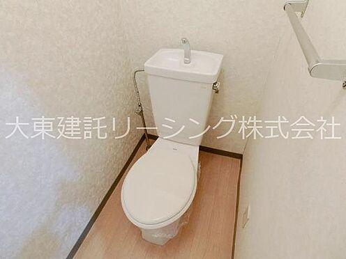 アパート-日立市日高町3丁目 トイレ