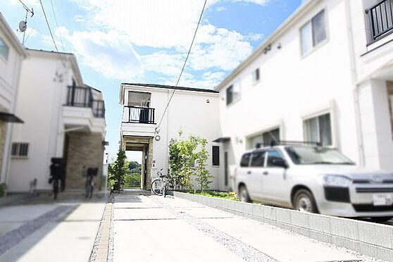 中古一戸建て-多摩市和田 駐車場