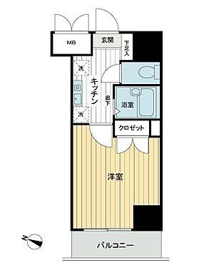 区分マンション-渋谷区笹塚2丁目 間取り