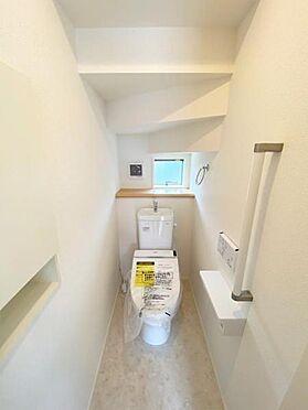 新築一戸建て-仙台市若林区沖野5丁目 トイレ