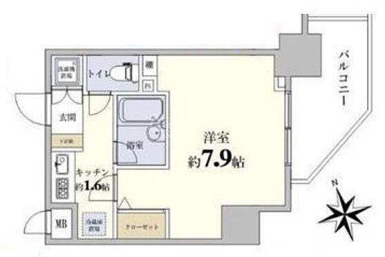 区分マンション-新宿区西早稲田1丁目 間取り