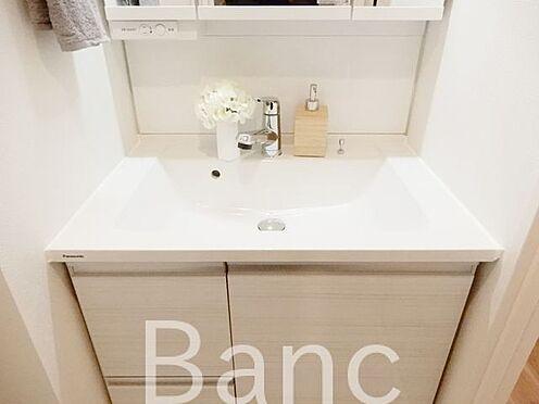 中古マンション-渋谷区広尾3丁目 三面鏡の洗面化粧台