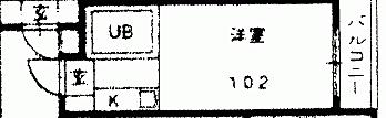 マンション(建物一部)-名古屋市天白区植田本町 間取り