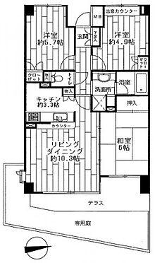 中古マンション-横浜市保土ケ谷区岩井町 専有面積:66.4平米 3LDK