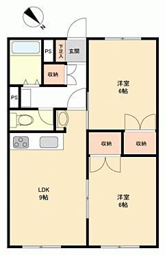中古マンション-札幌市西区八軒5丁目 間取り