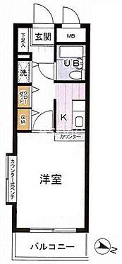 区分マンション-横浜市港北区綱島東3丁目 間取り