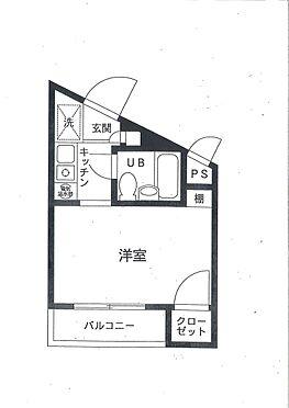 マンション(建物一部)-大田区北千束2丁目 間取り
