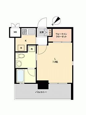 区分マンション-福岡市中央区平尾2丁目 間取り