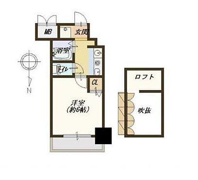 マンション(建物一部)-大阪市浪速区難波中3丁目 間取り